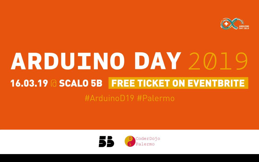 #ArduinoD19 Palermo