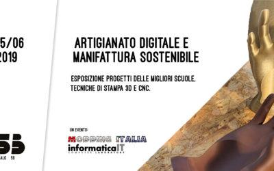 """Artigianato digitale e manifattura sostenibile, la sfida dei """"makers"""" a Palermo"""