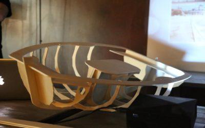 LIA, la barca a vela in kit costruita da artgiani 4.0 e 5 giovani dell'USMM, pronta a salpare dal Porto di Catania