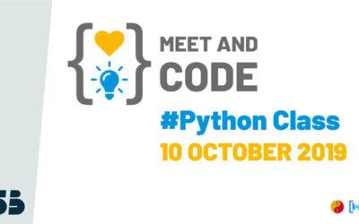 Meet & Code a Palermo impara a programmare con Python Class (dai 13 ai 17 anni)