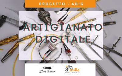 """Al via il progetto """"Artigianato digitale"""" promosso da Lisca Bianca e sostenuto con i fondi Otto per Mille della Chiesa Valdese"""