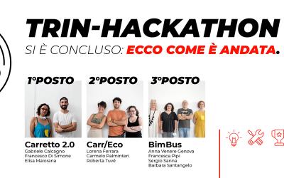Trin-Hackathon si è concluso: ecco come è andata.